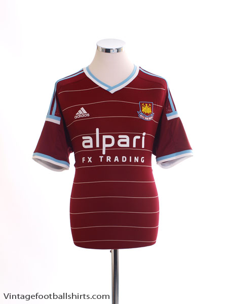 2014-15 West Ham Home Shirt L