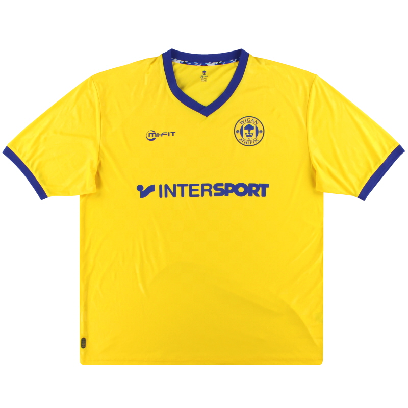 2014-15 Wigan Away Shirt *Mint* XXXL
