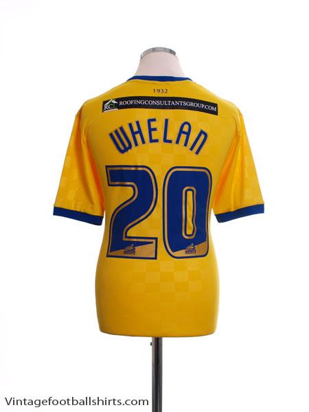 2014-15 Wigan Away Shirt Whelan #20 *BNWT* M