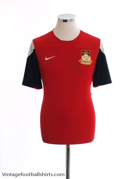 2014-15 Wrexham '150th Anniversary' Nike Training Shirt L - 588462-657