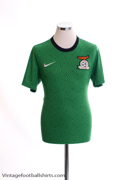 2014-15 Zambia Home Shirt *Mint* S