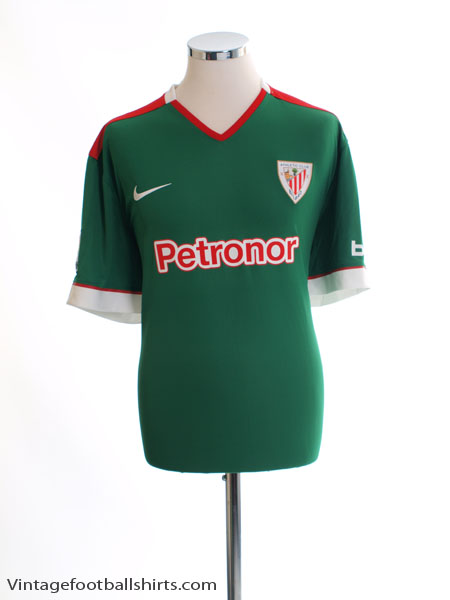 2014-16 Atletico Bilbao Away Shirt *Mint* L - 619639-303
