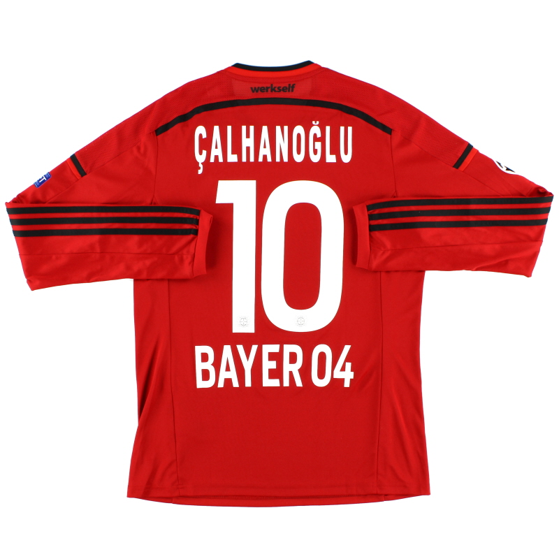 2014-16 Bayer Leverkusen European Shirt Calhanoglu #10 M