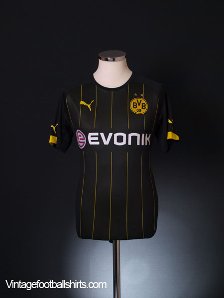 2014-16 Borussia Dortmund Away Shirt S
