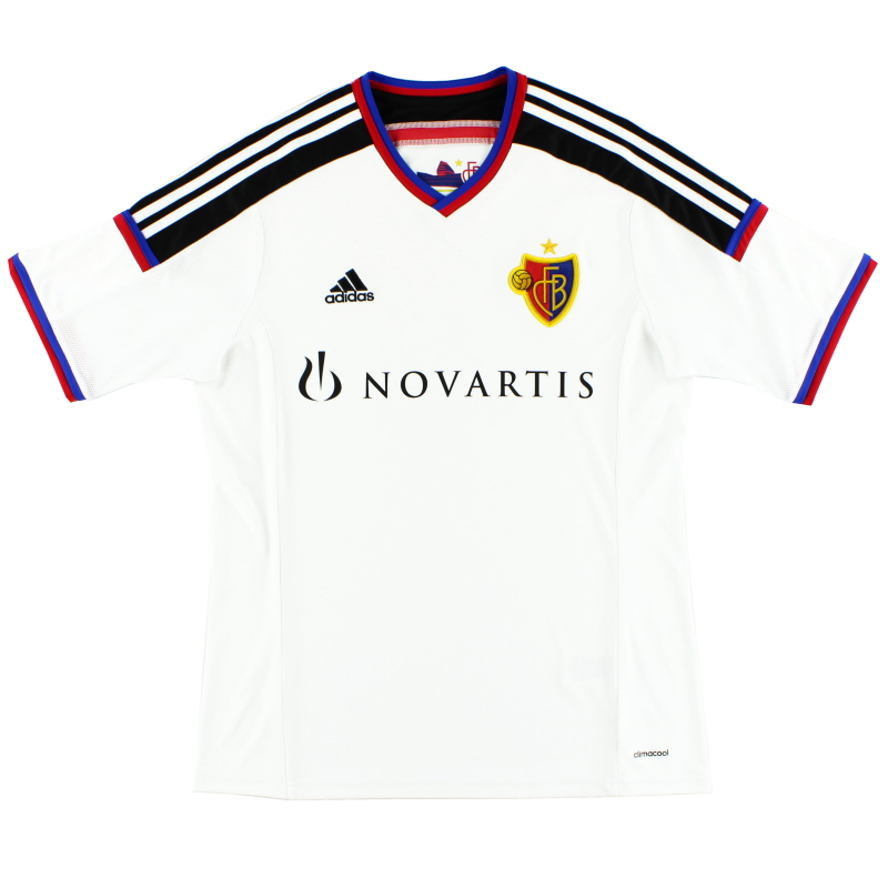 2014-16 FC Basel Away Shirt L - F80926
