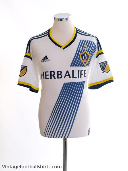 pretty nice 73c1d 15875 2015-16 LA Galaxy Home Shirt L for sale