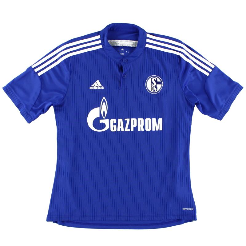 2014-16 Schalke Home Shirt *Mint* L