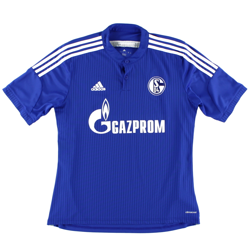 2014-16 Schalke Home Shirt XL - D88444