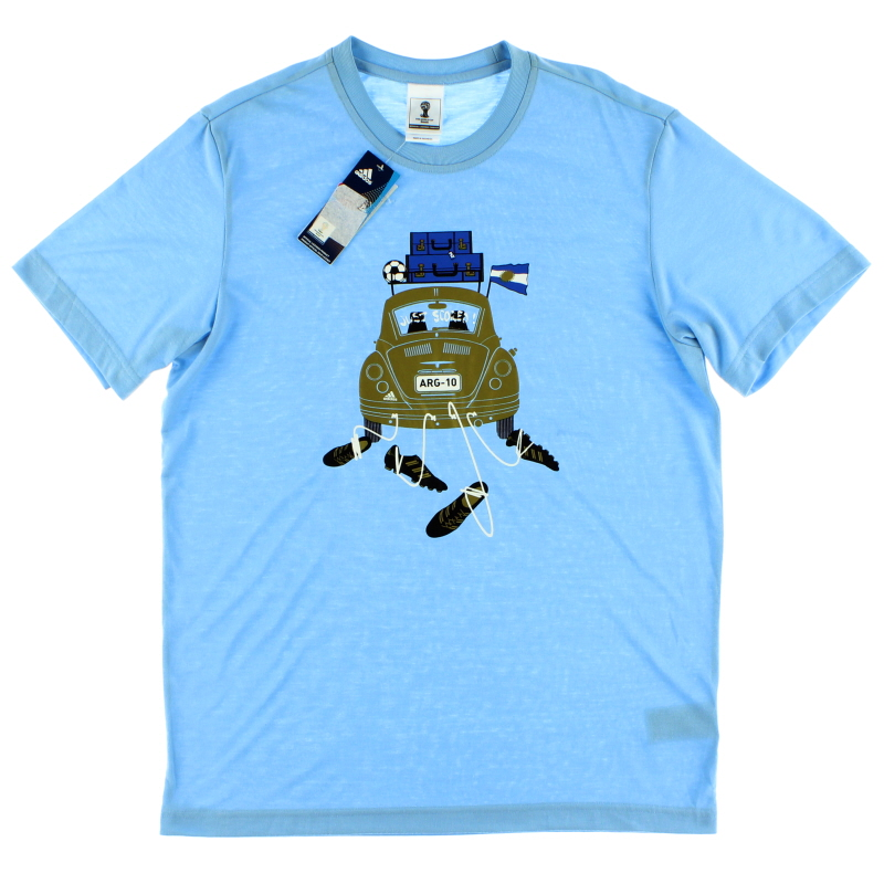 2014 Argentina adidas Graphic Tee *w/tags* S - F76883