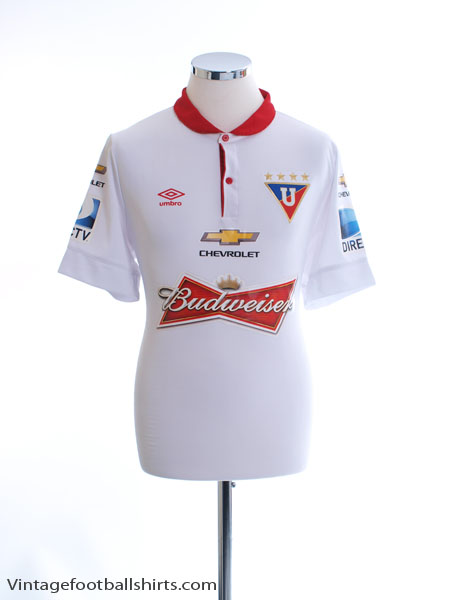 2014 LDU Quito Home Shirt L