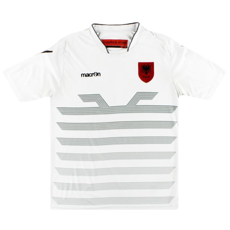 2015-16 Albania Macron Away Shirt M