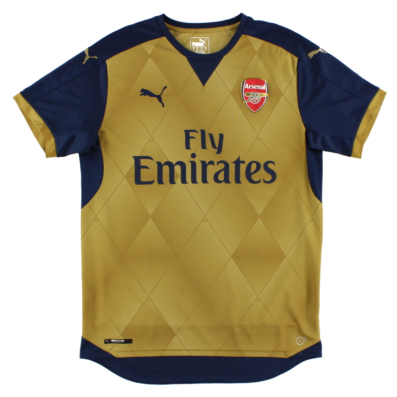 2015-16 Arsenal Away Shirt M