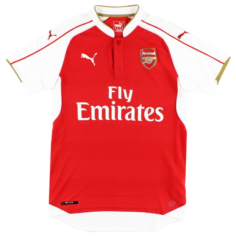 2015-16 Arsenal Puma Home Shirt L - 747566