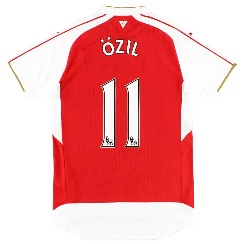 2015-16 Arsenal Home Shirt Ozil #11 *Mint* S - 747566