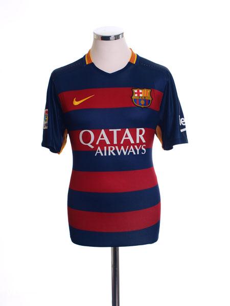 2015-16 Barcelona Home Shirt M - 658794-422