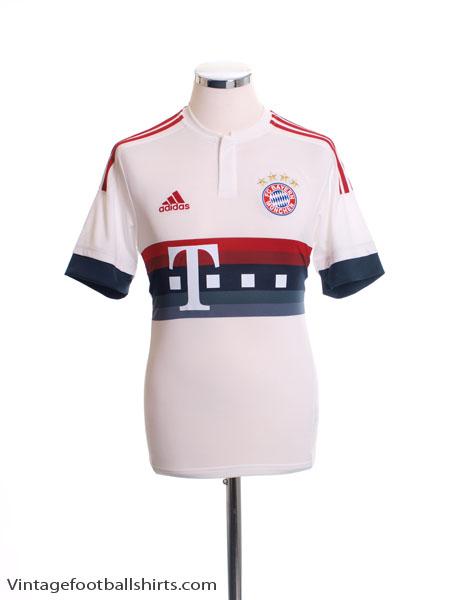 2015-16 Bayern Munich Away Shirt *Mint* S - AH4790