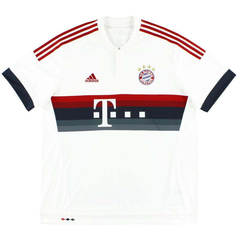2015-16 Bayern Munich Away Shirt XXL - AH4790