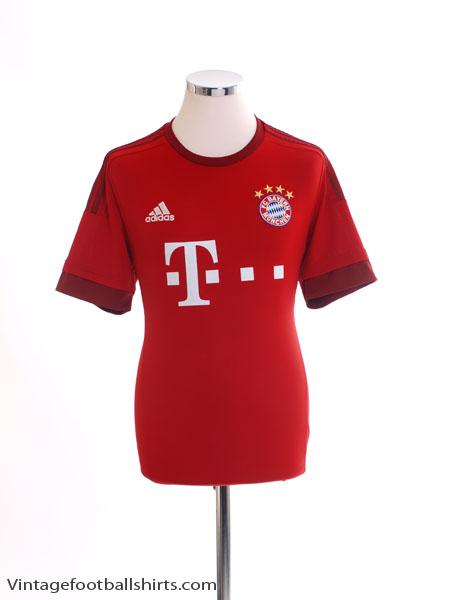 2015-16 Bayern Munich Home Shirt *Mint* XL - S14294