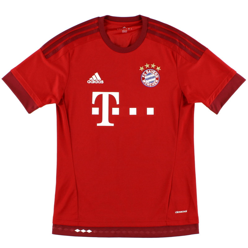 2015-16 Bayern Munich Home Shirt *Mint* XXL - S14294