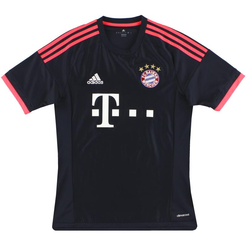 2015-16 Bayern Munich adidas Third Shirt  S