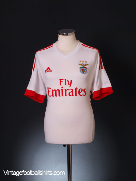 2015-16 Benfica Away Shirt *Mint* L