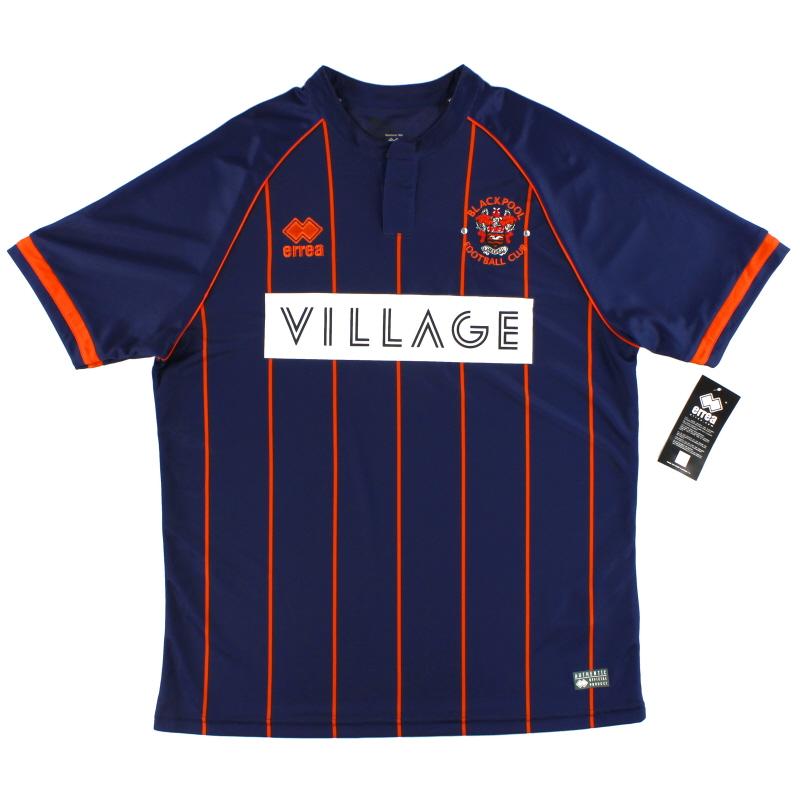 2015-16 Blackpool Errea Away Shirt *BNIB*