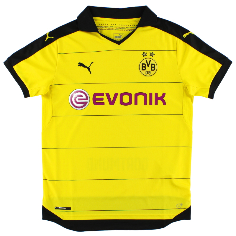 2015-16 Borussia Dortmund Home Shirt *Mint* L