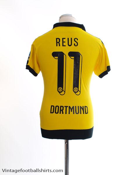 2015-16 Borussia Dortmund Home Shirt Reus #11 M