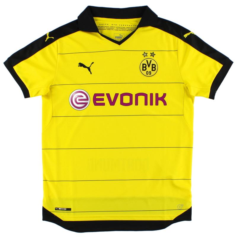 2015-16 Borussia Dortmund Home Shirt S - 747991