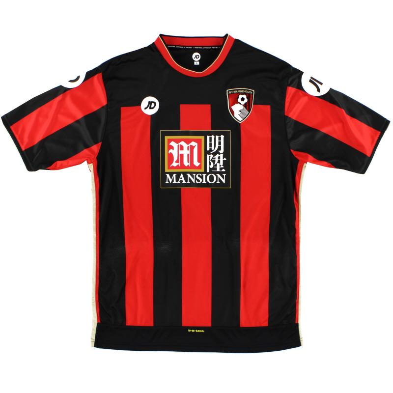 2015-16 Bournemouth JD Sports Home Shirt L
