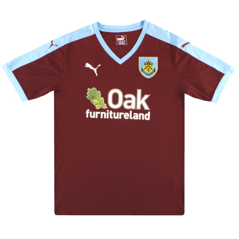 2015-16 Burnley Puma Home Shirt M - 0415A0036986