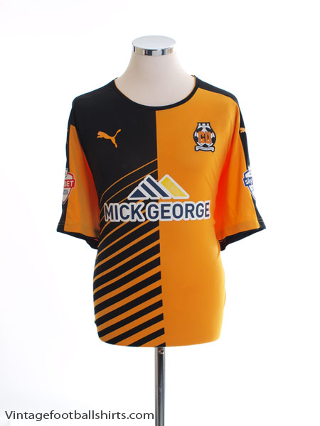 2015-16 Cambridge United Home Shirt XXL