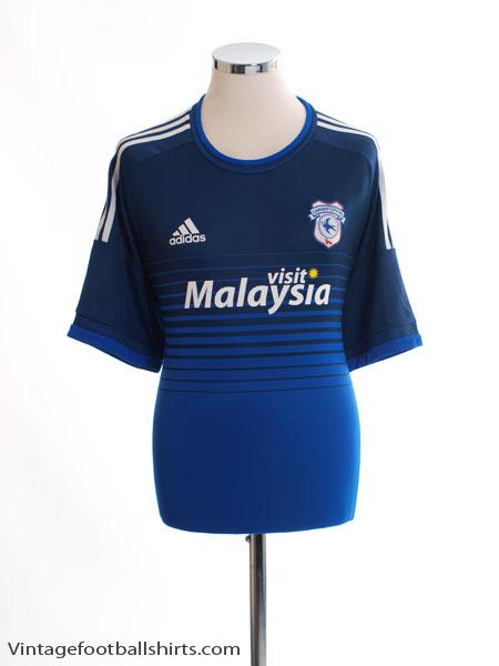2015-16 Cardiff City Adizero Home Shirt XXL
