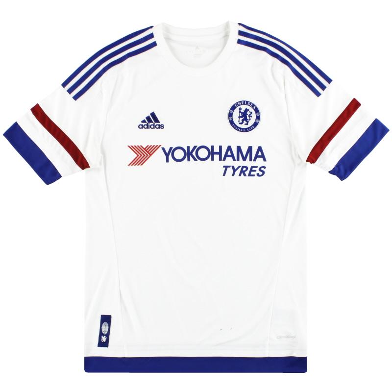 2015-16 Chelsea adidas Away Shirt S - AH5108
