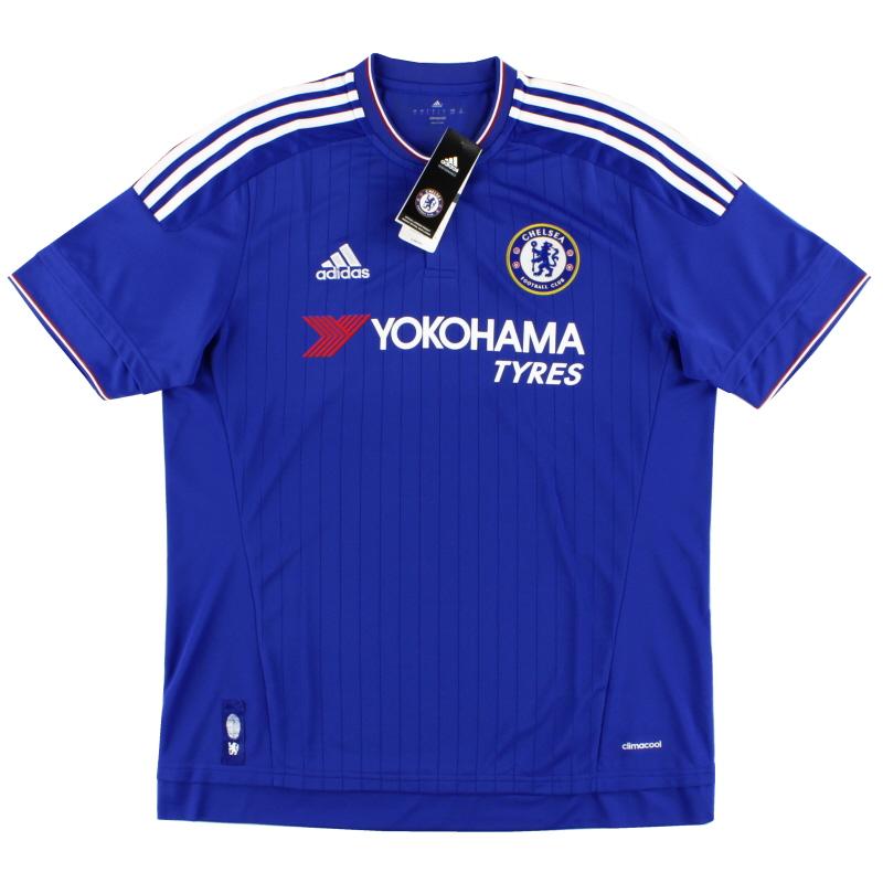 2015-16 Chelsea adidas Home Shirt *BNIB* S - AH5104