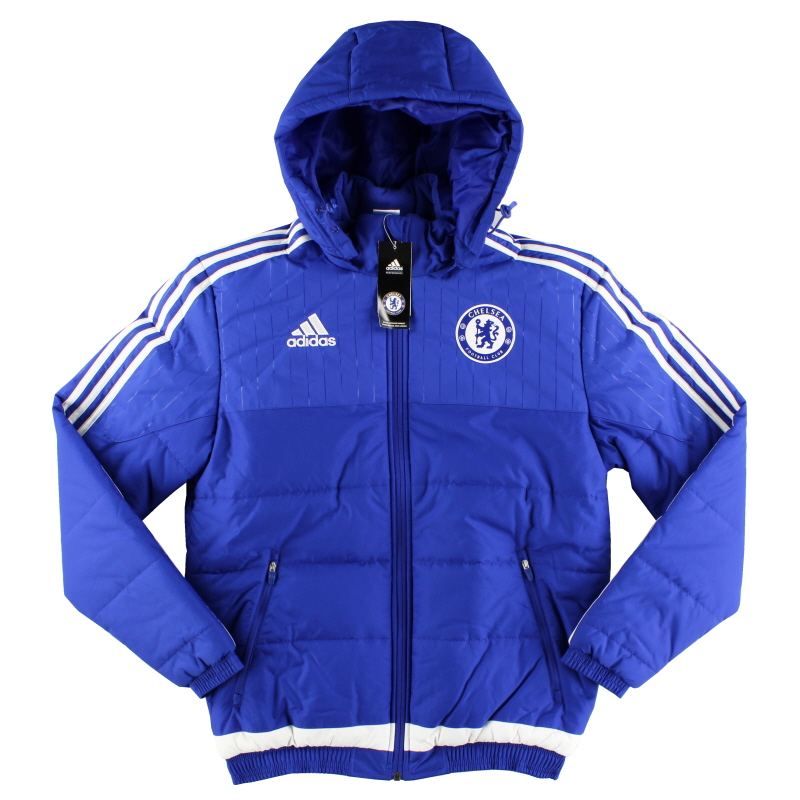 2015-16 Chelsea adidas Padded Jacket *w/tags* S - S12066