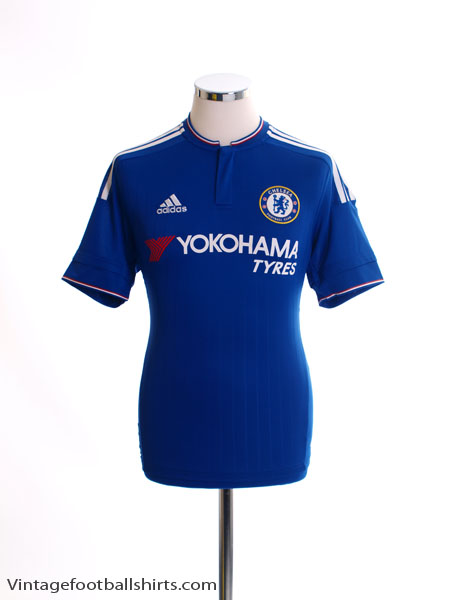 2015-16 Chelsea Home Shirt S - AH5104