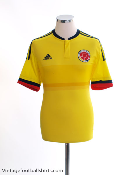 2015-16 Colombia Home Shirt M