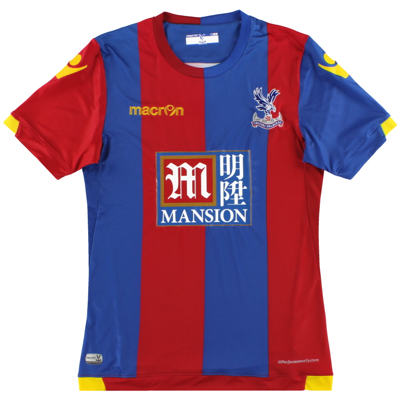 2015-16 Crystal Palace Macron Home Shirt S