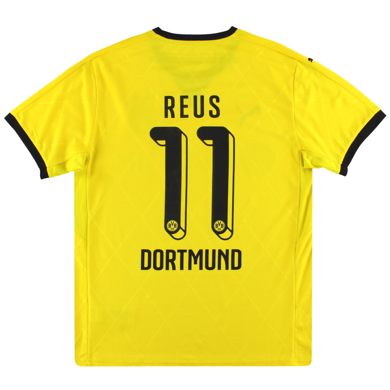 2015-16 Dortmund Puma Home Shirt Reus #11 L - 747997
