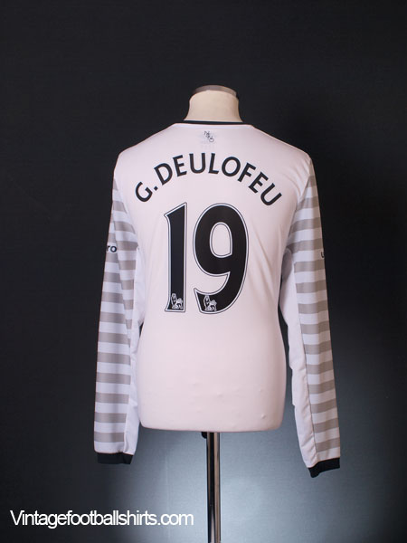 2015-16 Everton Away Shirt G.Deulofeu #19 L/S *Mint* XL