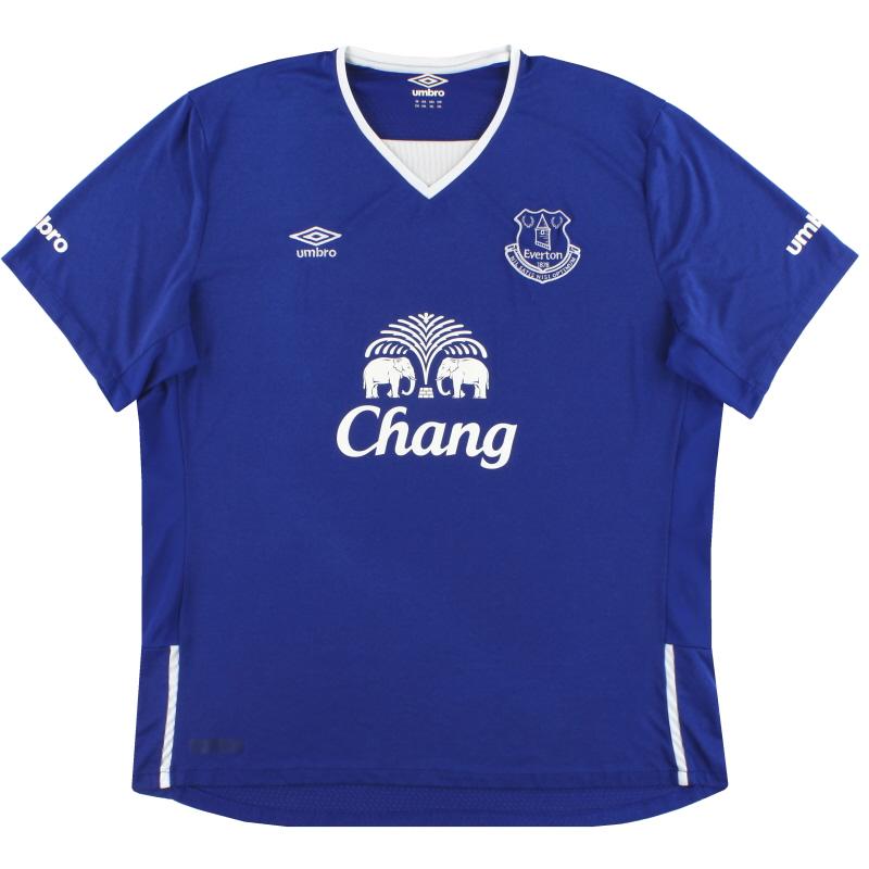 2015-16 Everton Umbro Home Shirt XXL