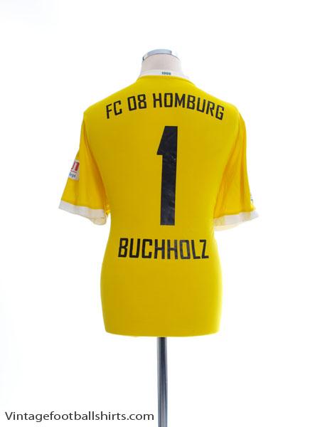 2015-16 FC 08 Homburg Match Issue Goalkeeper Shirt Buchholz #1 L - F84835