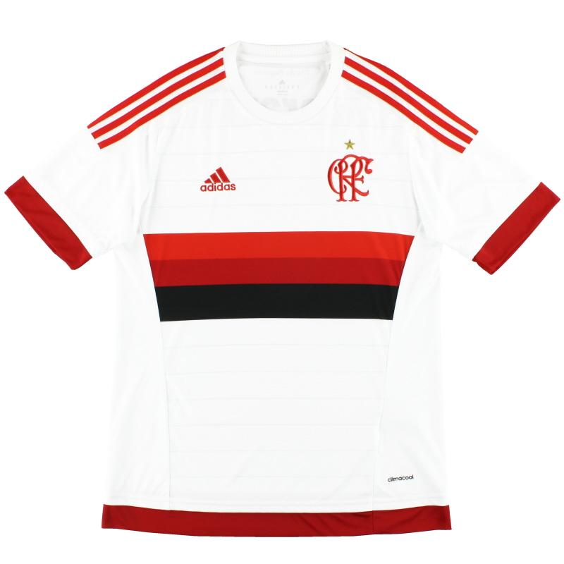 2015-16 Flamengo adidas Away Shirt *Mint* M - S12938