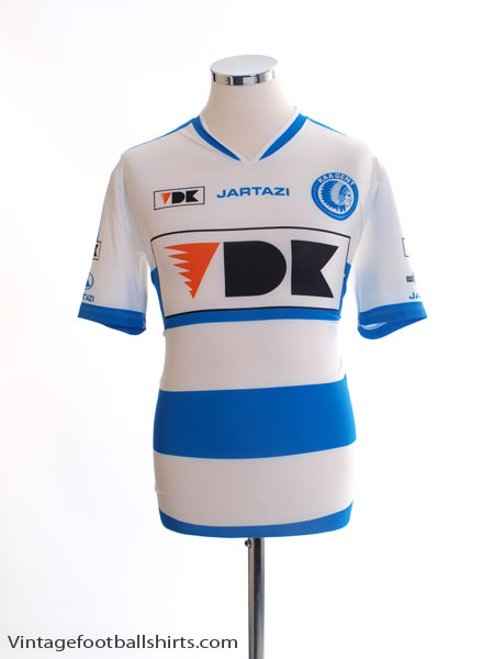 2015-16 Gent Player Issue Away Shirt *Mint* L