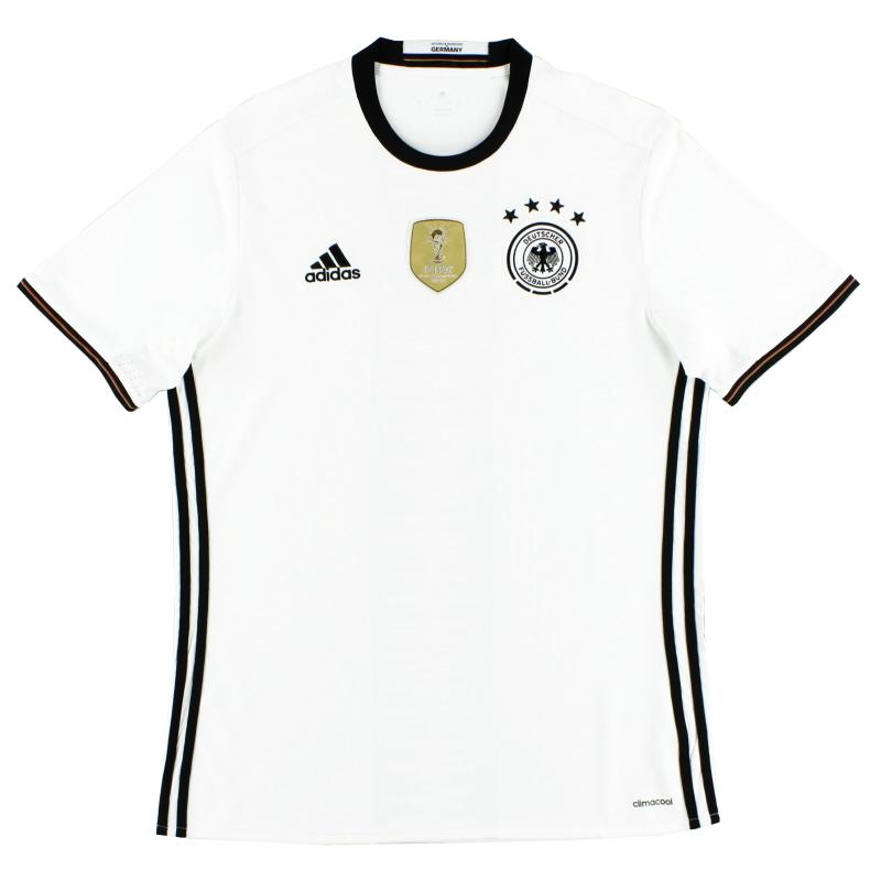 2015-16 Germany adidas Home Shirt L - AI5014