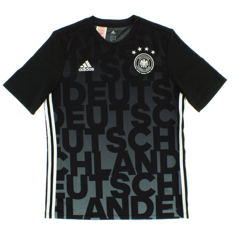 2015-16 Germany adidas Training Shirt *Mint* Y - AC6575