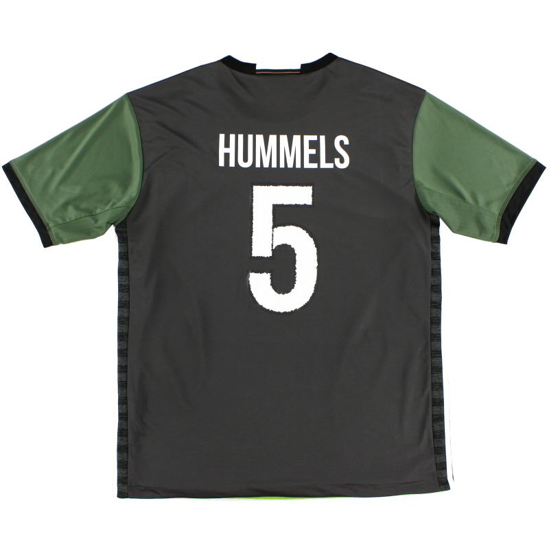 2015-16 Germany Away Shirt Hummels #5 XL - AA0110