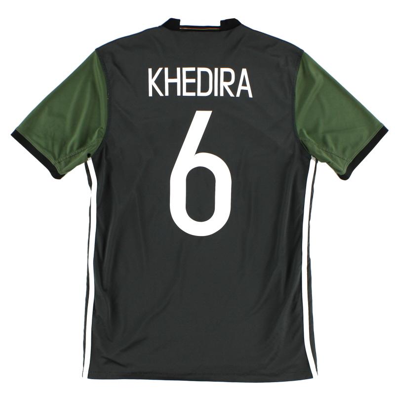 2015-16 Germany Away Shirt Khedira #6 S - AA0110
