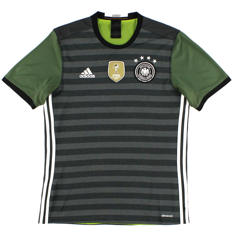 2015-16 Germany Away Shirt *Mint* L - AA0110